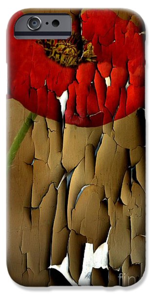 Torn iPhone Cases - Holding On iPhone Case by Clare Bevan