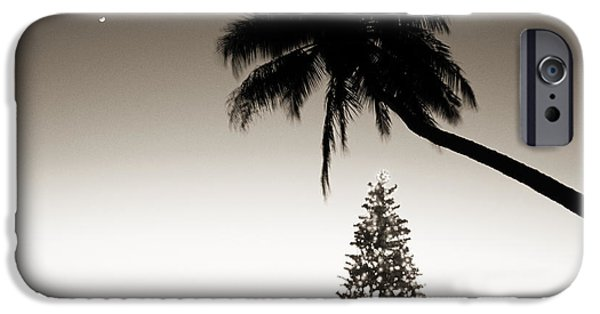 Overhang iPhone Cases - Holidays in Hawaii iPhone Case by Ron Dahlquist - Printscapes