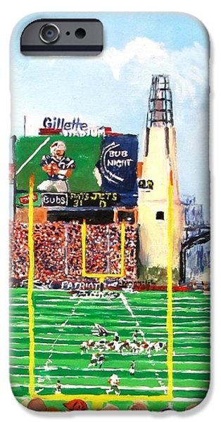 iPhone Cases - Home of the Pats iPhone Case by Jack Skinner