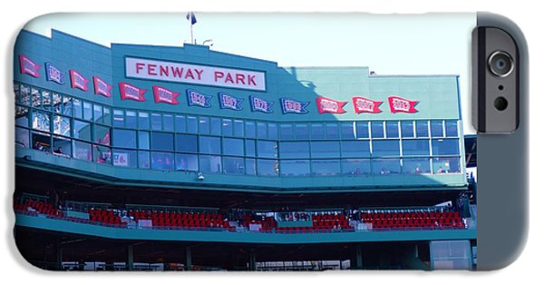 Fenway Park iPhone Cases - Home of the Red Sox iPhone Case by Gina Sullivan