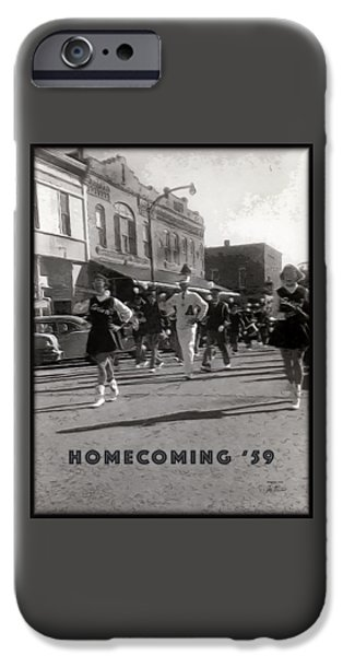 Village iPhone Cases - Homecoming 1959 iPhone Case by Joe Paradis