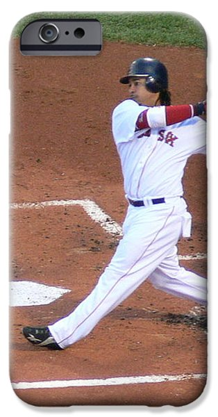 Homerun Swing iPhone Case by Kevin Fortier