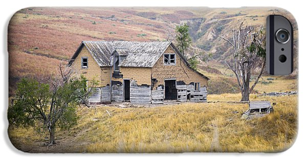 Haunted House iPhone Cases - Homestead iPhone Case by Jerry David