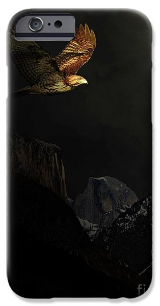 Village Mixed Media iPhone Cases - Homeward Bound iPhone Case by Wingsdomain Art and Photography