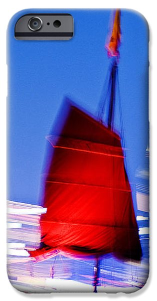 Hong Kong Lights iPhone Case by Ray Laskowitz - Printscapes