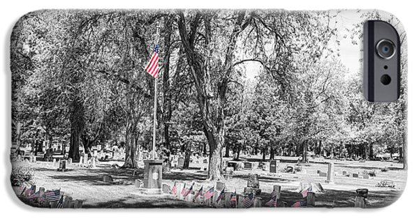 American Flag iPhone Cases - Honor Thy Soldier Everywhere iPhone Case by James BO  Insogna