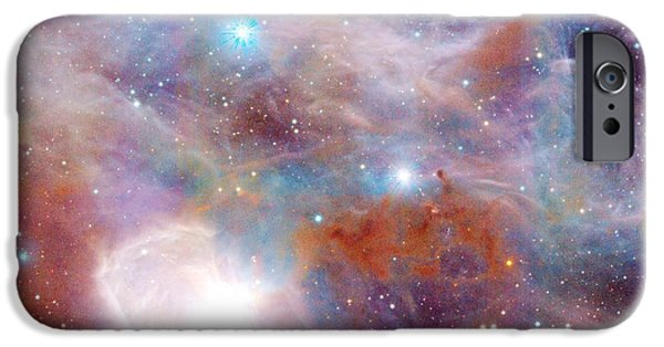 Constellations iPhone Cases - Horsehead Nebula iPhone Case by Johari Smith