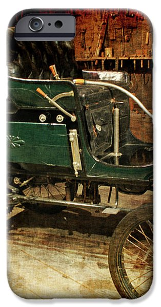 horseless carriage iPhone Case by Ernie Echols