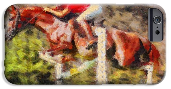 Virtual iPhone Cases - Horsemanship iPhone Case by Caito Junqueira