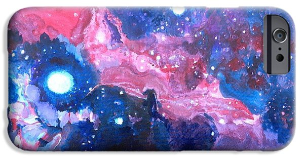 Constellations iPhone Cases - Horsehead Nebula iPhone Case by Chris Walker