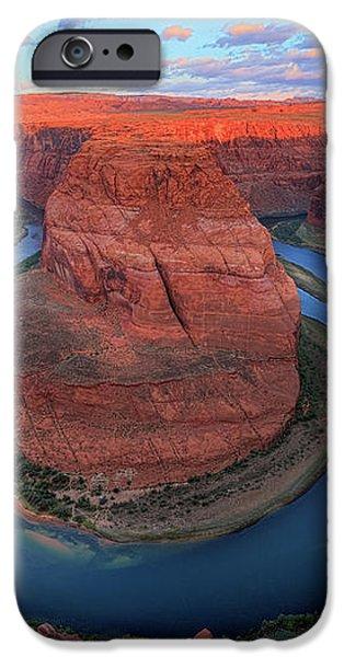 Horseshoe Bend Sunrise iPhone Case by Inge Johnsson
