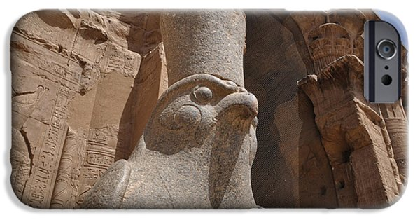 Horus Photographs iPhone Cases - Horus iPhone Case by Stevyn Llewellyn