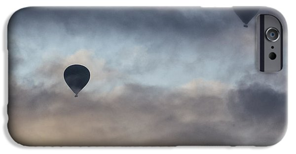 Hot Air Balloon iPhone Cases - Hot Air Balloons iPhone Case by Joana Kruse