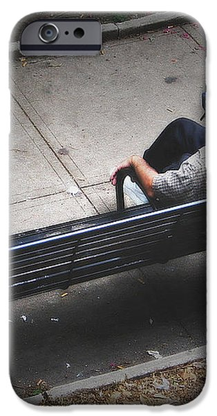 Hot And Homeless iPhone Case by Brian Wallace