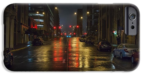 Morning iPhone Cases - Hot Austin iPhone Case by Van Sutherland