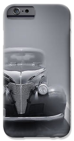 Hot Rod Power Black and White Poster iPhone Case by Dapixara Art