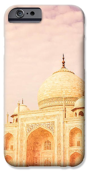 Hot Taj Mahal iPhone Case by Nila Newsom