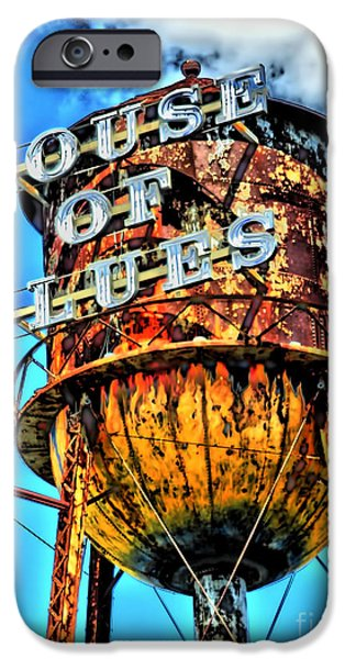 Commercial Photography iPhone Cases - House of Blues Orlando iPhone Case by Corky Willis Atlanta Photography