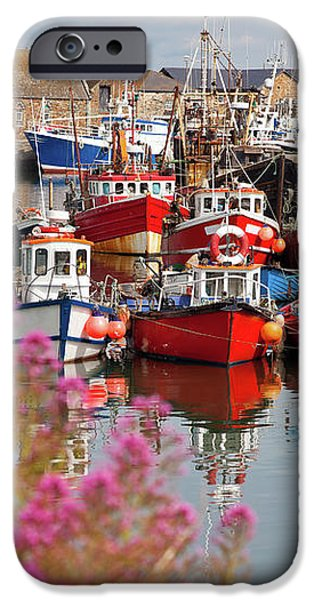 Howth harbour iPhone Case by Gabriela Insuratelu