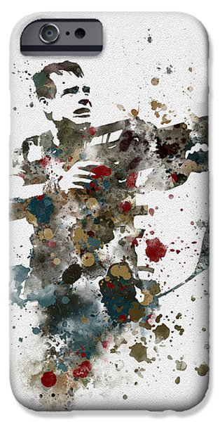 Science Fiction Mixed Media iPhone Cases - Hudson iPhone Case by Rebecca Jenkins