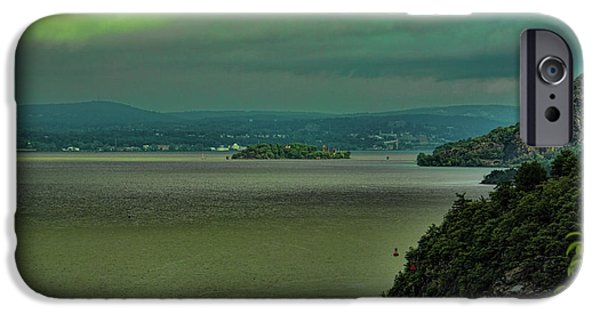 Hudson River iPhone Cases - Hudson River Valley iPhone Case by Roberta Byram