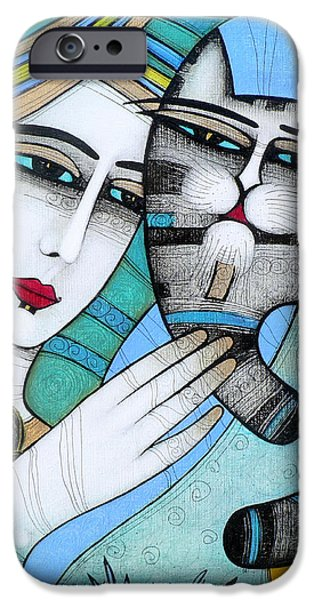 Albena iPhone Cases - Hug iPhone Case by Albena Vatcheva