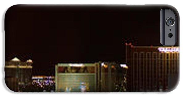 Virtual iPhone Cases - Huge Vegas Panorama  iPhone Case by Scott Perkins