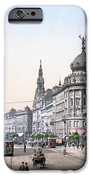 HUNGARY: BUDAPEST, c1895 iPhone Case by Granger