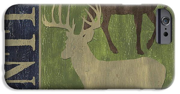 Texture iPhone Cases - Hunting iPhone Case by Debbie DeWitt