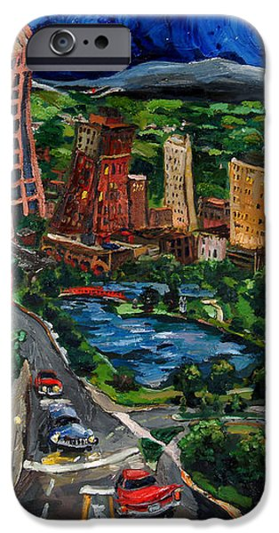 Huntsville Skyline iPhone Case by Carole Foret