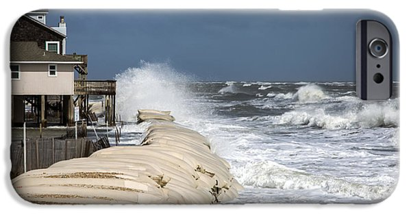 House iPhone Cases - Hurricane Joaquin iPhone Case by Karen Wiles