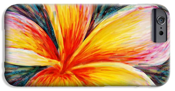 Invitations Paintings iPhone Cases - Hurt Filling iPhone Case by Atiketta Sangasaeng