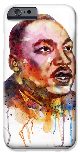 Have iPhone Cases - I Have a Dream iPhone Case by Marian Voicu