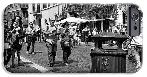 I Love America iPhone Cases - I Heart Rome iPhone Case by John Rizzuto
