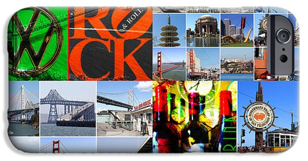 Recently Sold -  - Bay Bridge iPhone Cases - I Left My Heart In San Francisco 20140418 iPhone Case by Wingsdomain Art and Photography