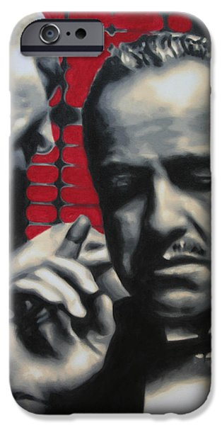 Francis Ford Coppola iPhone Cases - I Want You To Kill Him 2013 iPhone Case by Luis Ludzska