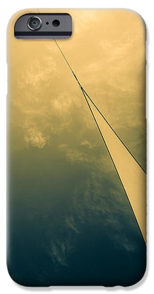 Icarus Journey to the sun iPhone Case by Bob Orsillo