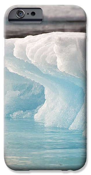 Ice Bears iPhone Case by Elisabeth Van Eyken