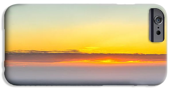 Chip iPhone Cases - Ice Fog on Chip Lake iPhone Case by Drew May