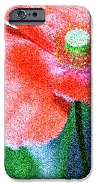Icelandic Poppy iPhone Case by Bonnie Bruno