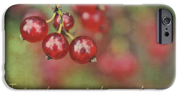 Berry Digital iPhone Cases - Ici et Maintenant  iPhone Case by Aimelle