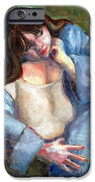 Llmartin iPhone Cases - Icon iPhone Case by Linda L Martin