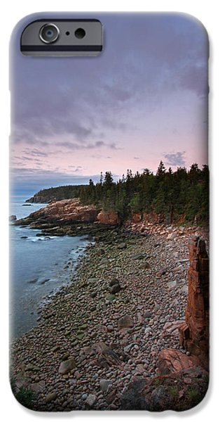 Maine Roads iPhone Cases - Iconic Acadia iPhone Case by Juergen Roth