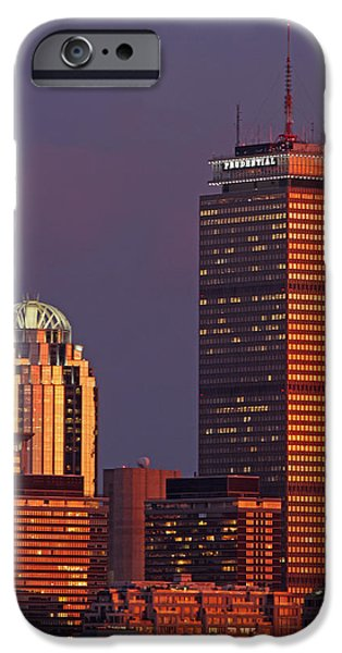 Boston iPhone Cases - Iconic Boston iPhone Case by Juergen Roth