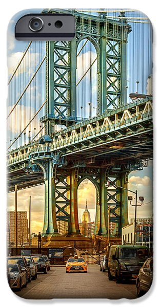 Empire State iPhone Cases - Iconic Manhattan iPhone Case by Az Jackson