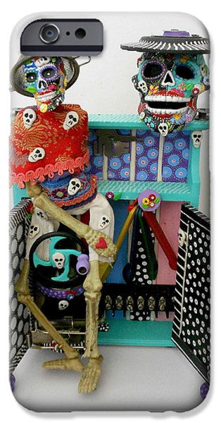 Original Sculptures iPhone Cases - Id Give My Right Arm For You iPhone Case by Keri Joy Colestock