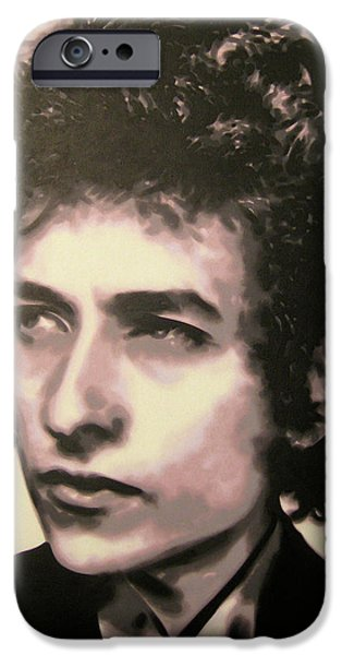 Woody Guthrie iPhone Cases - Id let you be in my dreams if I can be in yours I said that iPhone Case by Luis Ludzska