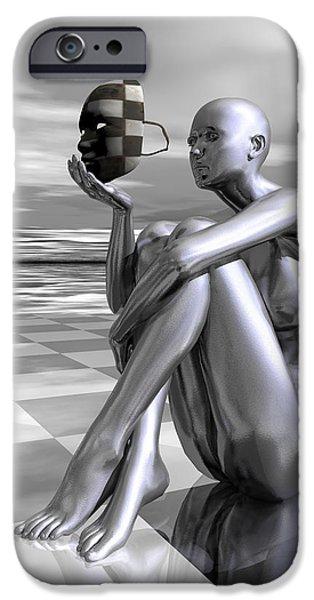 Identity iPhone Case by Sandra Bauser Digital Art