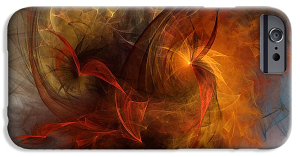 Poetic iPhone Cases - Ikarus iPhone Case by Karin Kuhlmann