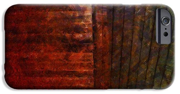 Nature Abstract iPhone Cases - Il etait une fois faire l amour dans le grenier iPhone Case by Sir Josef  Putsche